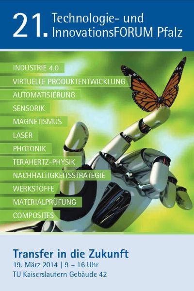 Die Robot Makers GmbH auf dem 21. Technologie- und Innovationsforum Pfalz