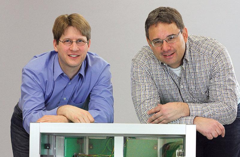 Dr.-Ing. Bernd Helge Leroch und Dr.-Ing. Carsten Hillenbrand