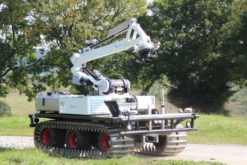Large Unmaned Ground Vehicle