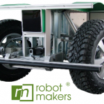 Die Roboterplattform VIONA verfügt auch über eine Schnittstelle zum weitverbreiteten Softwareframework ROS