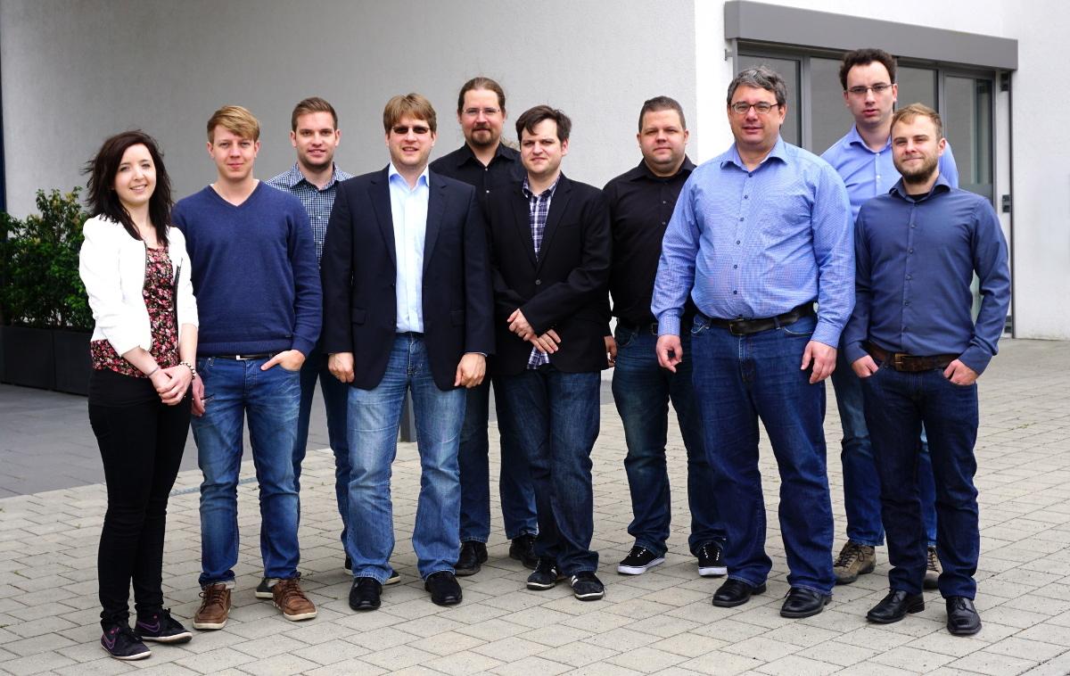 Das Team der Robot Makers GmbH