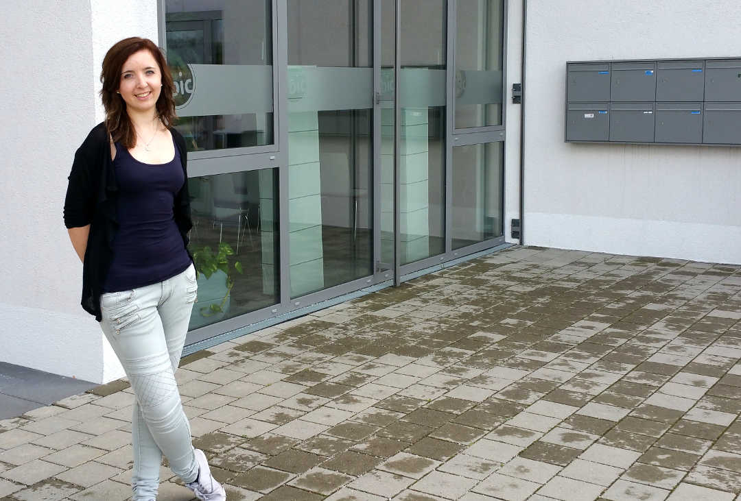 After one year we say goodbye to our intern Mareike and wish her much success and fun for her studies!