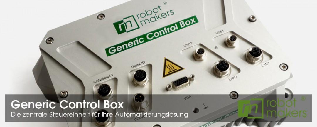 Generic Control Box - Die zentrale Steuereinheit für Ihre Automatisierungslösung