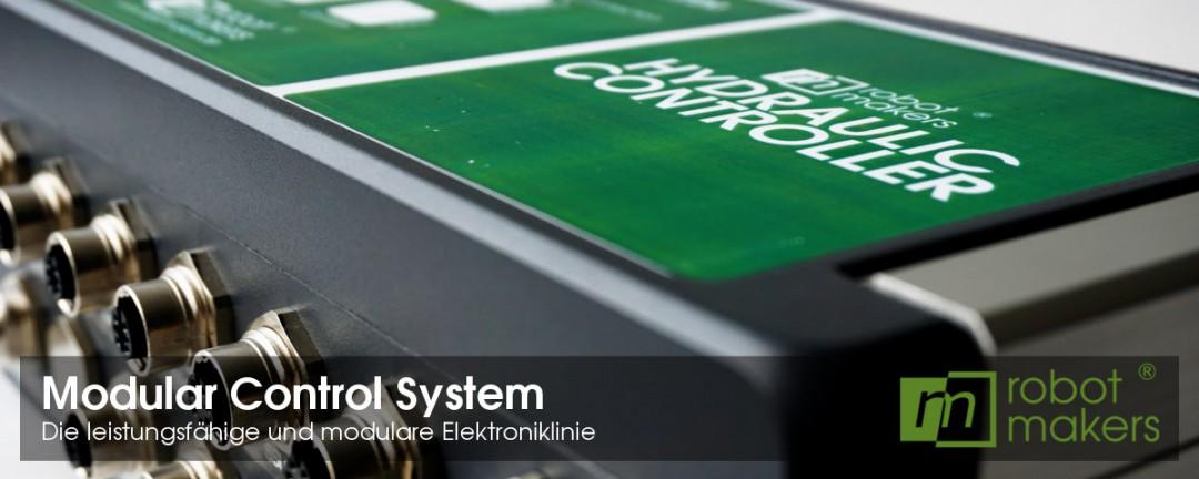 Modular Control System - Die modulare Elektroniklinie