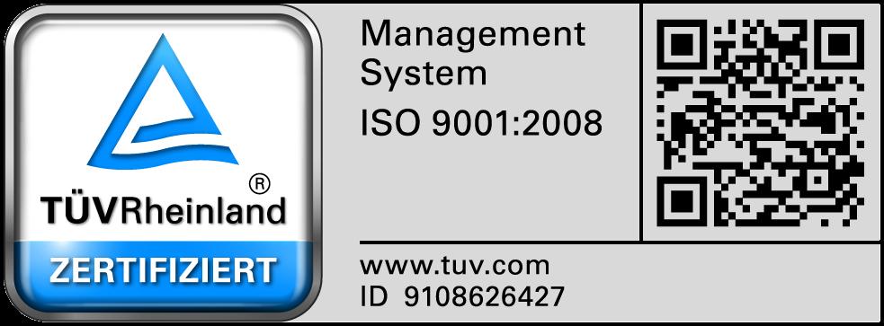 Das Qualitätsmanagement der Robot Makers GmbH ist gemäß DIN EN ISO 9001:2008 zertifiziert
