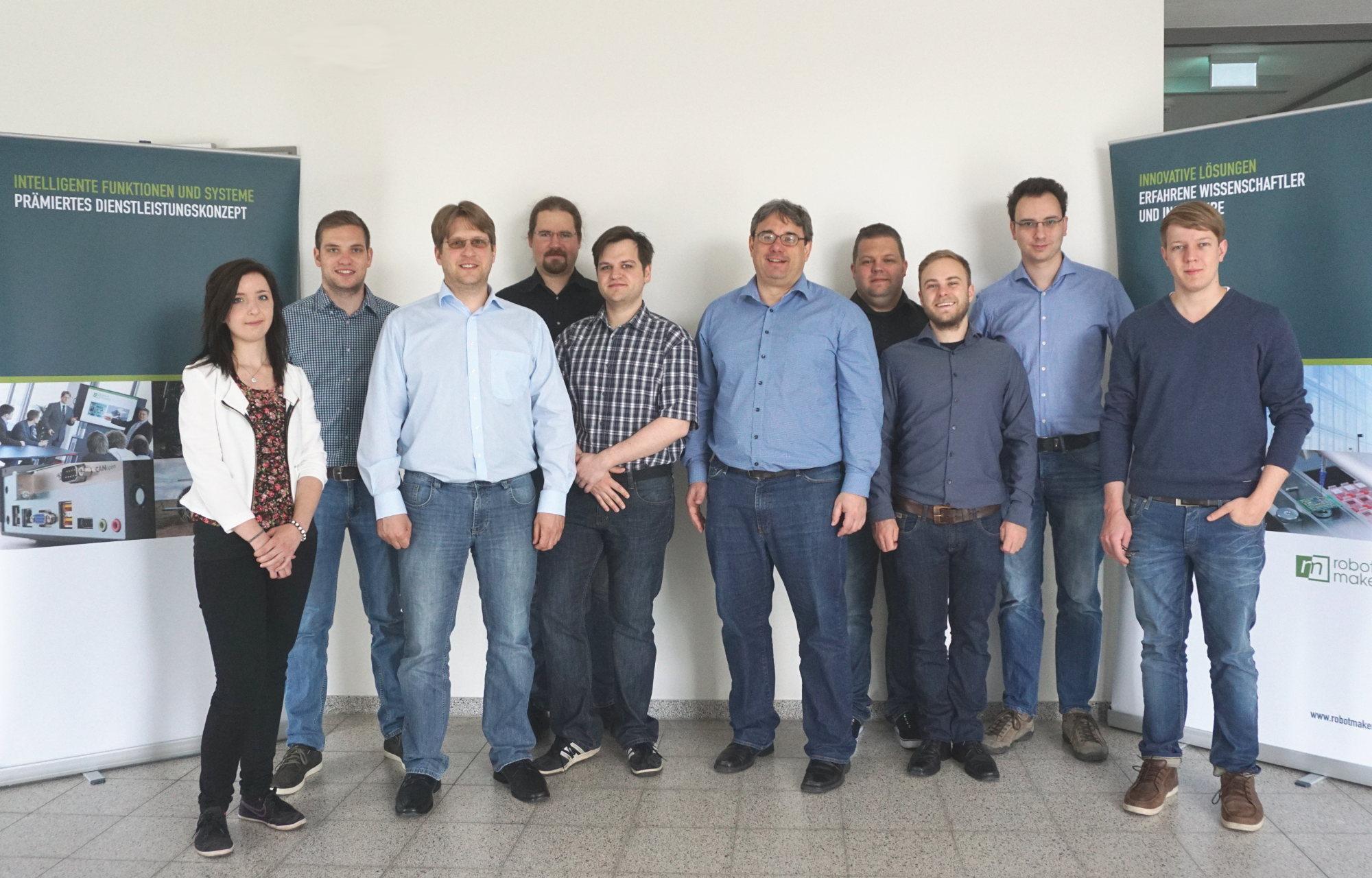 Die Robot Makers GmbH feiert ihr fünfjähriges Bestehen