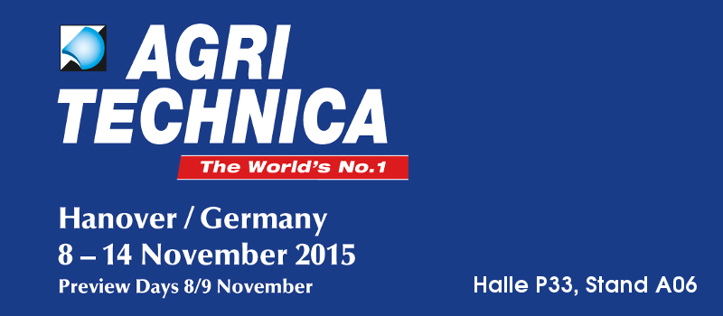 Robot Makers GmbH is part of Agritechnica 2015