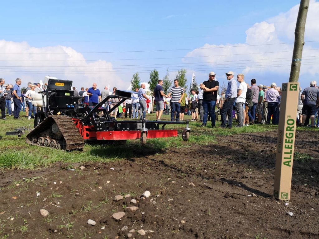 RowCropPilot auf der Maschinenvorführung der Baumschultechnik 2019