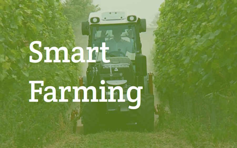 Smart Farming spielt eine große Rolle in der Landwirtschatft der Zukunft