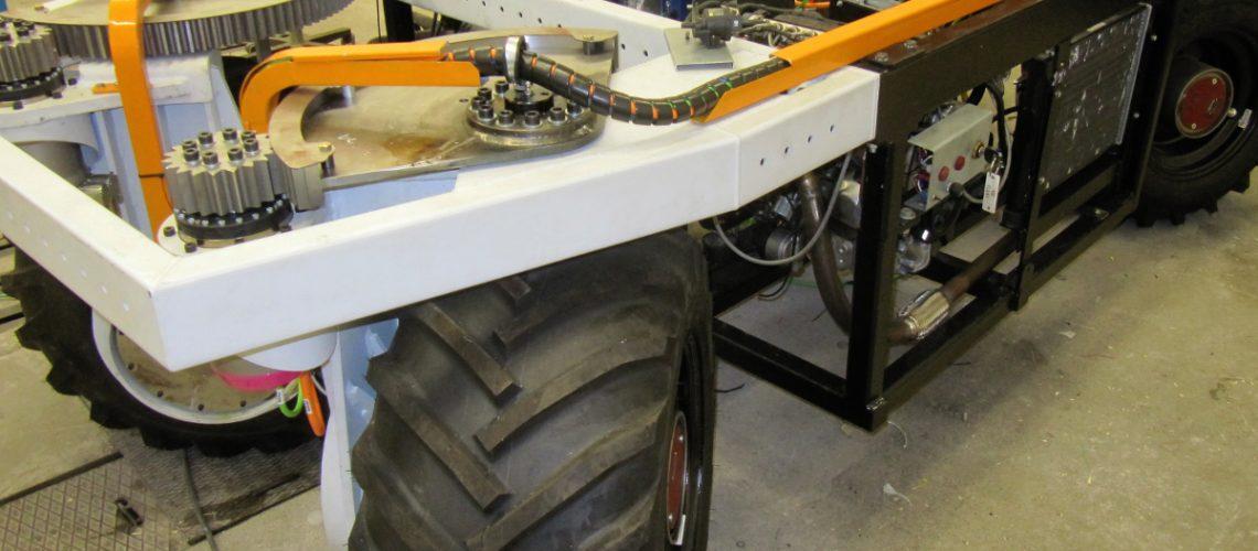 The elWObot, developed by the Technical University Dresden (©TU Dresden)